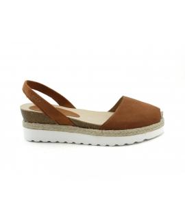 RIA Schuhe für Frauen Menorcan Sandalen Plattform vegane Schuhe