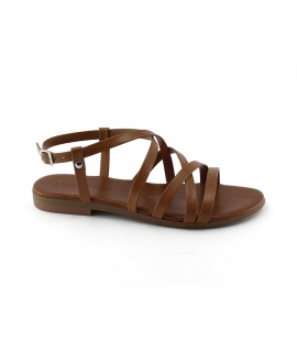 VSI SILE Zapatos de mujer Sandalias con hebilla cruzada hebillas bandas veganas Hecho en Italia