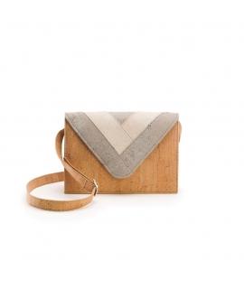 ARTELUSA Woman Cork bag adjustable shoulder strap waterproof vegan button