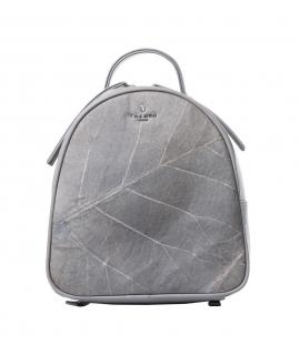 Rachel Women's Backpack leaves adjustable straps waterproof vegan zip closure