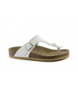 VEGAN BIO Aster Scarpe Donna ciabatte  infradito vernice fibbia vegan shoes