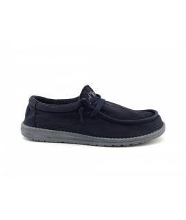 HEY DUDE WALLY Washed Man sneakers en coton respirant d'été chaussures vegan