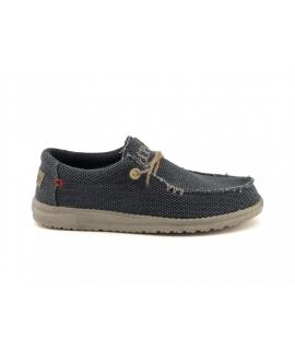 HEY DUDE WALLY Chaussures tressées Hommes baskets d'été en coton biologique respirant chaussures végétaliennes
