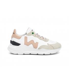 Chaussures Femme WOMSH Wave Sneakers Chaussures vegan Pellemela Fabriqué en Italie