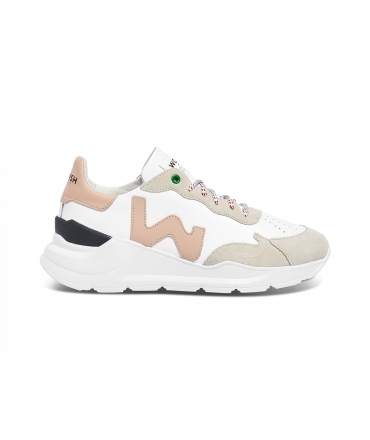 WOMSH Wave Scarpe Donna Sneakers Pellemela vegan shoes Made in Italy
