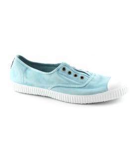 CIENTA azul lago azzurro scarpe Bambina elastico tessuto