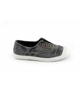 CIENTA grigio scarpe Bambino elastico tessuto slip on