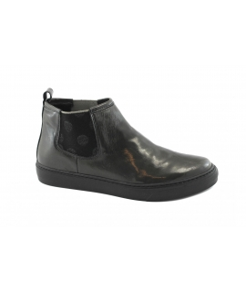 SCOTTI Moo Stivaletto Donna Beatles Vernice Elastico Made in Italy