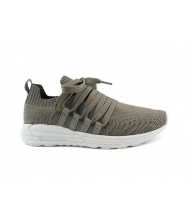 ECOALF Phi Phi Ecological Recycled Schuhe Damen elastische Sneakers tragen vegane Schnürsenkel