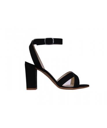 64bd52aecef0e1 Nouveau FERA LIBENS Calliope Chaussures femme Sandales à talons en daim  microfibre Fabriquées en Italie