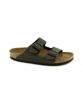 BIRKENSTOCK Arizona BS mules Man buckles vegan shoes