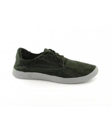 NATURAL WORLD scarpe Uomo lacci cotone bio plantare estraibile vegan shoes