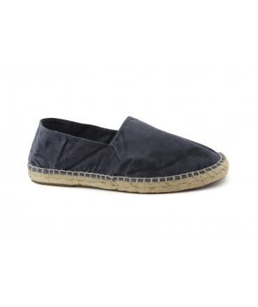 NATURAL WORLD scarpe Uomo Espadrlles Slip on Cotone Bio plantare estraibile vegan shoes