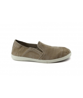 Chaussures NATURAL WORLD Hommes Slip sur Elastique Coton Bio amovible plantaire vegan chaussures