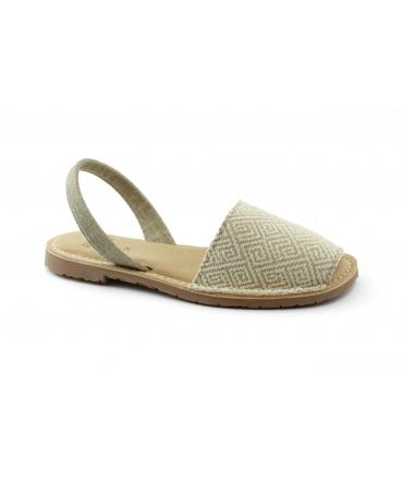 RIA scarpe donna cotone bio minorchine sottopiede imbottito vegan shoes