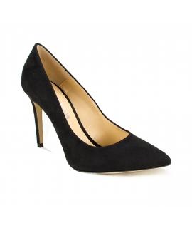 FERA LIBENS Clelia Chaussures Femme Clelia Suede Microfibre Talon Fabriqué en Italie
