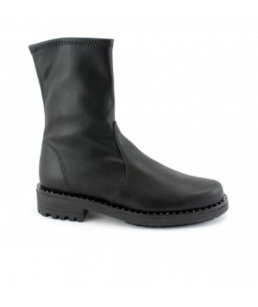 RAPISARDI MARIKA MA2302 chaussures femme bottes tubulaires chaussures végétaliennes studs