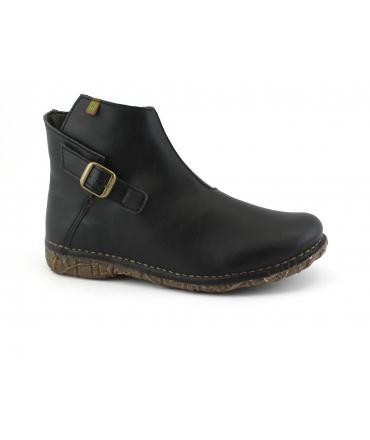 EL NATURALIST 5460T ANGKOR chaussures femme cheville botte boucle à glissière chaussures vegan
