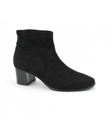 RAPISARDI MARIKA M804 scarpe Donna Stivaletti tubolare tacco tessuto effetto Nabuk vegan shoes