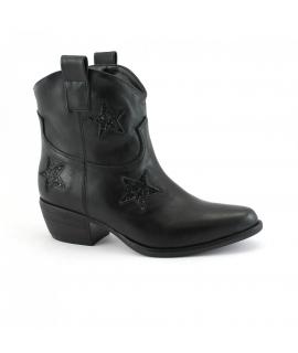 VSI Schuhe Frau Texan Stiefeletten Vegan Ferse Schuhe Made in Italy