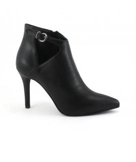 VSI Shoes Femme Chaussures à talons végétaliens avec bride zippée Tronchetti Fabriquées en Italie
