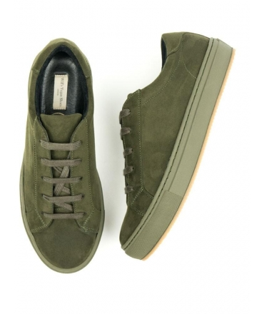WILL'S COLOUR SNEAKERS Sneakers Donna lacci Microfibra effetto Nabuk vegan shoes