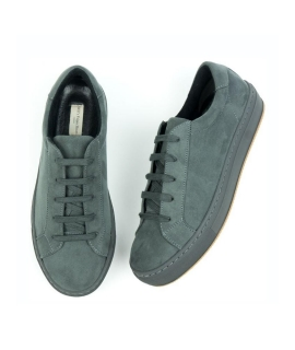 WILL'S COLOUR SNEAKERS Sneakers Uomo lacci Microfibra effetto Nabuk vegan shoes