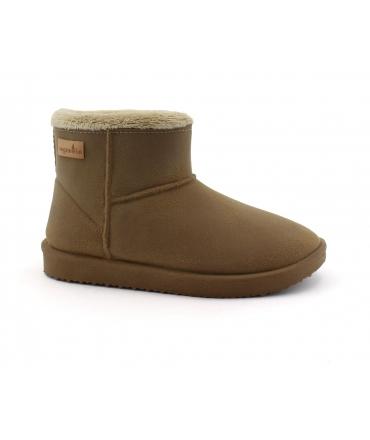 VEGAN BIO Chaussures Snowdrop Femme Bottines manteau en fourrure synthétique chaussures végétaliennes