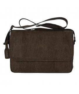 ARTELUSA Man Messenger Bag Kork verstellbarer Schultergurt vegan