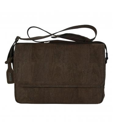ARTELUSA Man Messenger Bag cork adjustable shoulder strap vegan