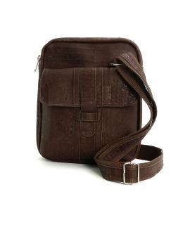 22bc0c35c0 ARTELUSA Man bag cork adjustable shoulder strap vegan zip