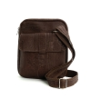 ARTELUSA Man bag cork adjustable shoulder strap vegan zip