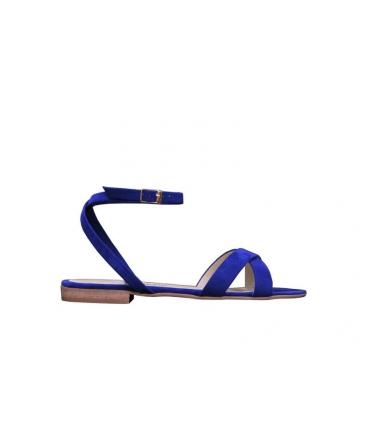 FERA LIBENS Clio Damen Schuh Wildleder Mikrofaser Sandalen Made in Italy