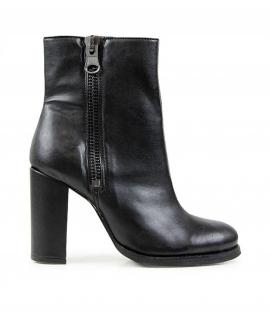 WILL'S Botas de tacón alto Luxe zapatos de mujer Biopolioli zip talón zapatos veganos a prueba de agua