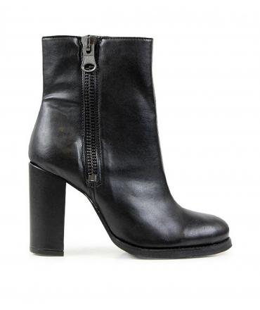 WILL'S High Heeled Luxe Boots scarpe Donna Biopolioli zip tacco impermeabili scarpe vegane