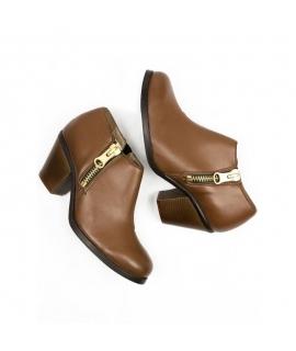 WILL'S Luxe Heeled Shoes Scarpe Donna Biopolioli zip tacco waterproof vegan shoes