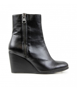 WILL'S Wedge Booties scarpe Donna zeppe Biopolioli zip impermeabili scarpe vegane