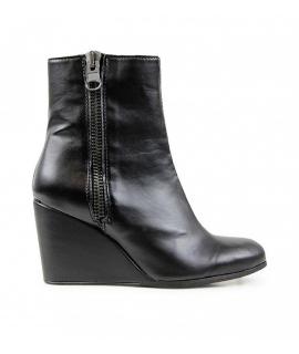 WILL'S Zapatos con cuña y botines de mujer Cuñas de biopolioli con cremallera zapatos veganos impermeables