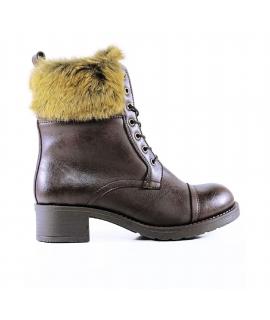 WILL'S Aviator Boots Scarpe Donna stivaletti Biopolioli pelo waterproof vegan shoes