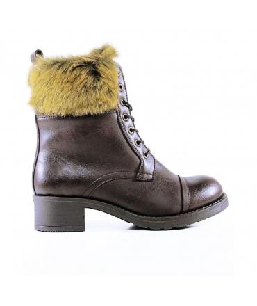 WILL'S Aviator Boots Scarpe Donna stivaletti Biopolioli pelo impermeabili scarpe vegane