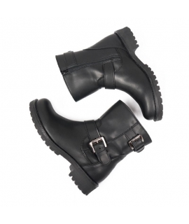 WILL'S Biker Boots Shoes Mujer Biker Biopolioli zapatos veganos impermeables