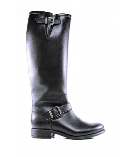 WILL'S Buckled Knee Length Boots shoes Women boots Biopolioli zip waterproof vegan shoes