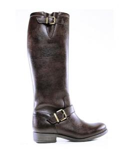 WILL'S Hebilla Hasta la Rodilla Botas zapatos Mujer botas Biopolioli zip zapatos veganos impermeables