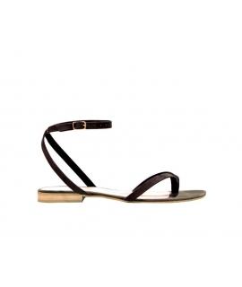 FERA LIBENS Zapatos Thalia para mujer Sandalias de gamuza en microfibra Made in Italy