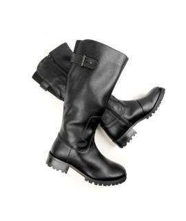Bottes de longueur de genoux de WILL'S chaussures femmes Bottes Biopolioli zip chaussures imperméables vegan
