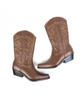 WILL'S Botas occidentales zapatos Mujeres botas Biopolioli zip zapatos veganos impermeables