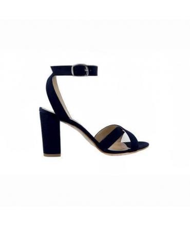 FERA LIBENS Calzado de mujer Calliope Sandalias de tacón Alcantara Made in Italy