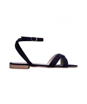 FERA LIBENS Clio Zapatos de mujer Sandalias de ante de Alcantara Made in Italy