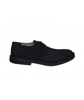 FERA LIBENS ANTEO Chaussures en daim alcantara et en chanvre pour hommes Made in Italy