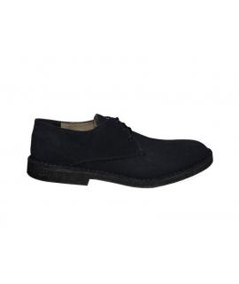 FERA LIBENS ANTEO Zapatos de cáñamo Alcantara Desert Suede para hombre Made in Italy